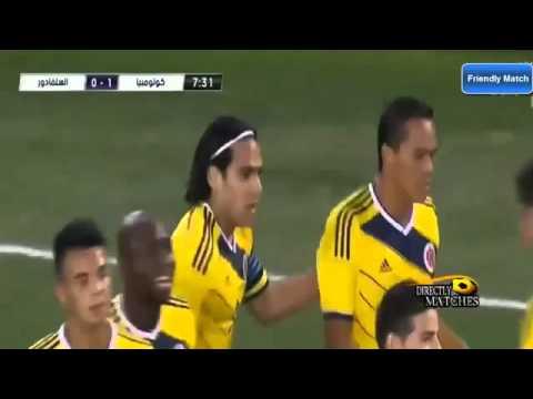 AMAZING GOAL Radamel Falcao Colombia vs El Salvador 3 0 HD