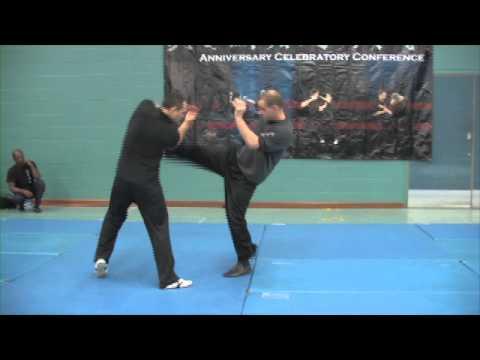 Nick Martin Sifu Wing Chun Teaching