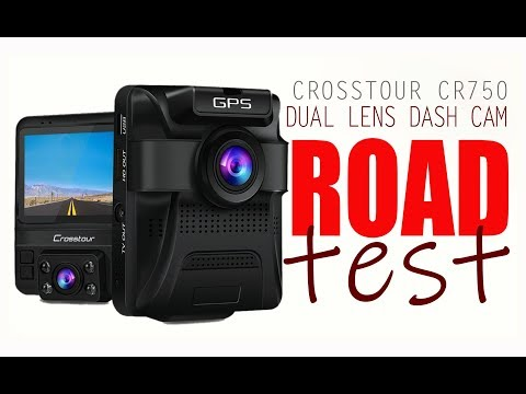 CR750 DUAL DASHCAM ROADTEST