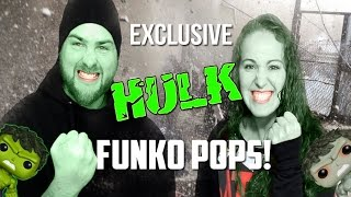 Exclusive Incredible Hulk Funko Pops - Barnes and Noble - Hot Topic