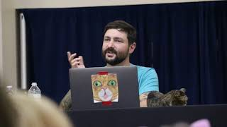 A few clips of Lil Bub at Cat Camp May 6, 2018