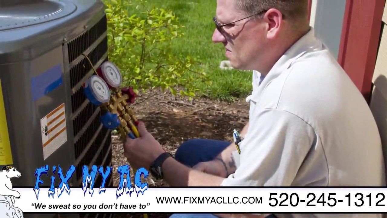 Fix My AC   Licensed & Bonded Experts in Premier Heating & A/C Services in Tucson, AZ - YouTube