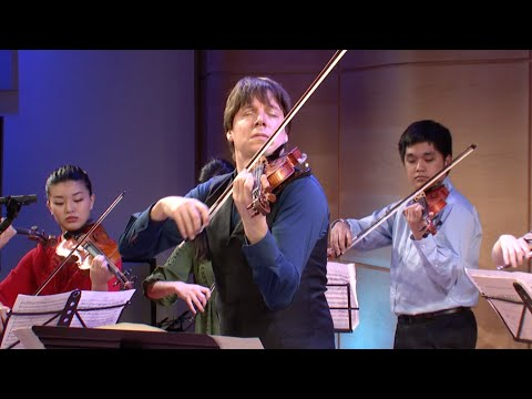 Joshua Bell and Young Arts: BACH, Concerto in A minor, BWV 1041