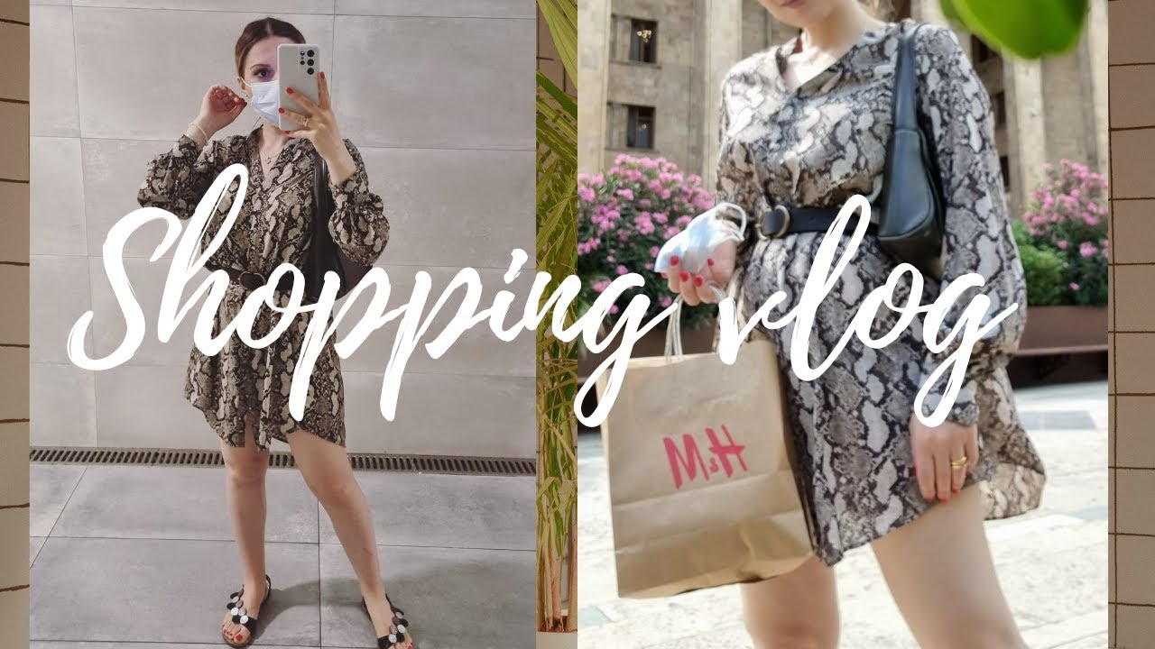 Shopping vlog || ამდენი რამ ერთად პირველად ვიყიდე || 12.06.2021 || NANUTA