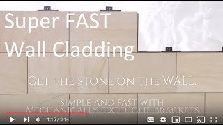 Super FAST Exterior CLADDING Systems -  LIGHTWEIGHT Insulated WALL Panels