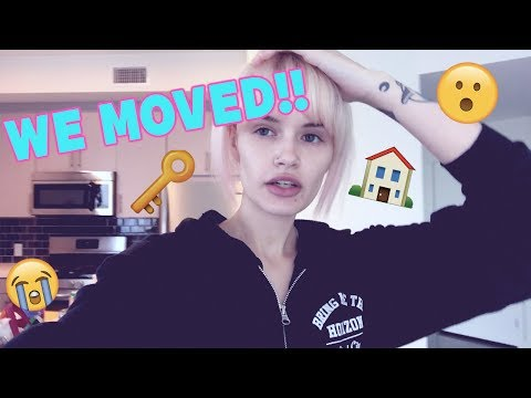 VLOG #1: Moving into our new place! | atleeeey