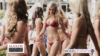 Maxim Australian Swimwear Model of the Year 2014 - Swimwear Judging Part1