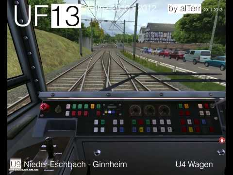 U-Bahn Frankfurt: Trainz [UF13] U9 nach Ginnheim