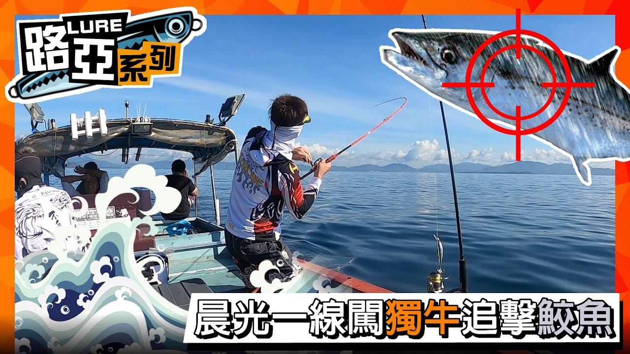香港釣魚【路亞】全城狂熱獨牛追鮫團 - YouTube
