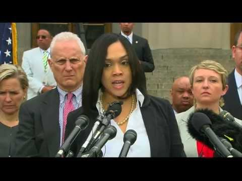 Baltimore: police officers charged over death of Freddie Gray