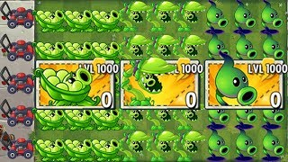 100% LEVEL 1000 Every Premium Plant Power-Up! in Plants vs Zombies 2