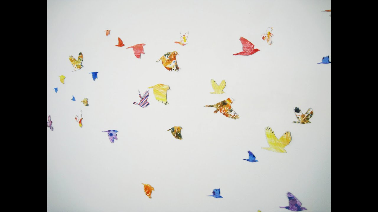 Art Lesson: How To Create Bird Wall Art