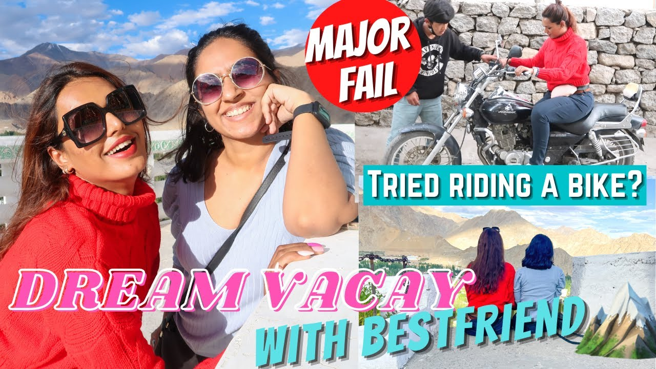 I went with MY BESTFRIEND on MY DREAM VACAY! Travelling after 2 years   #TravelWSar