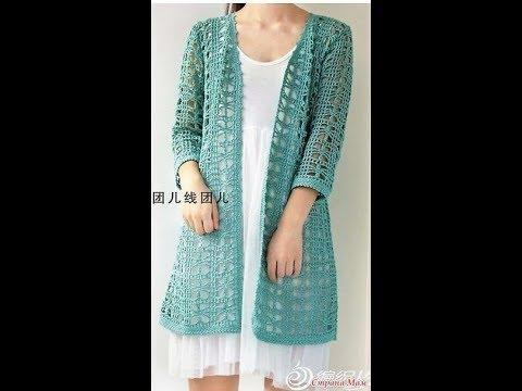 Crochet Patterns| for Free |crochet cardigan| 2749