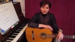 Обучение на гитаре 1й курс Виктории Юдиной обновлён
