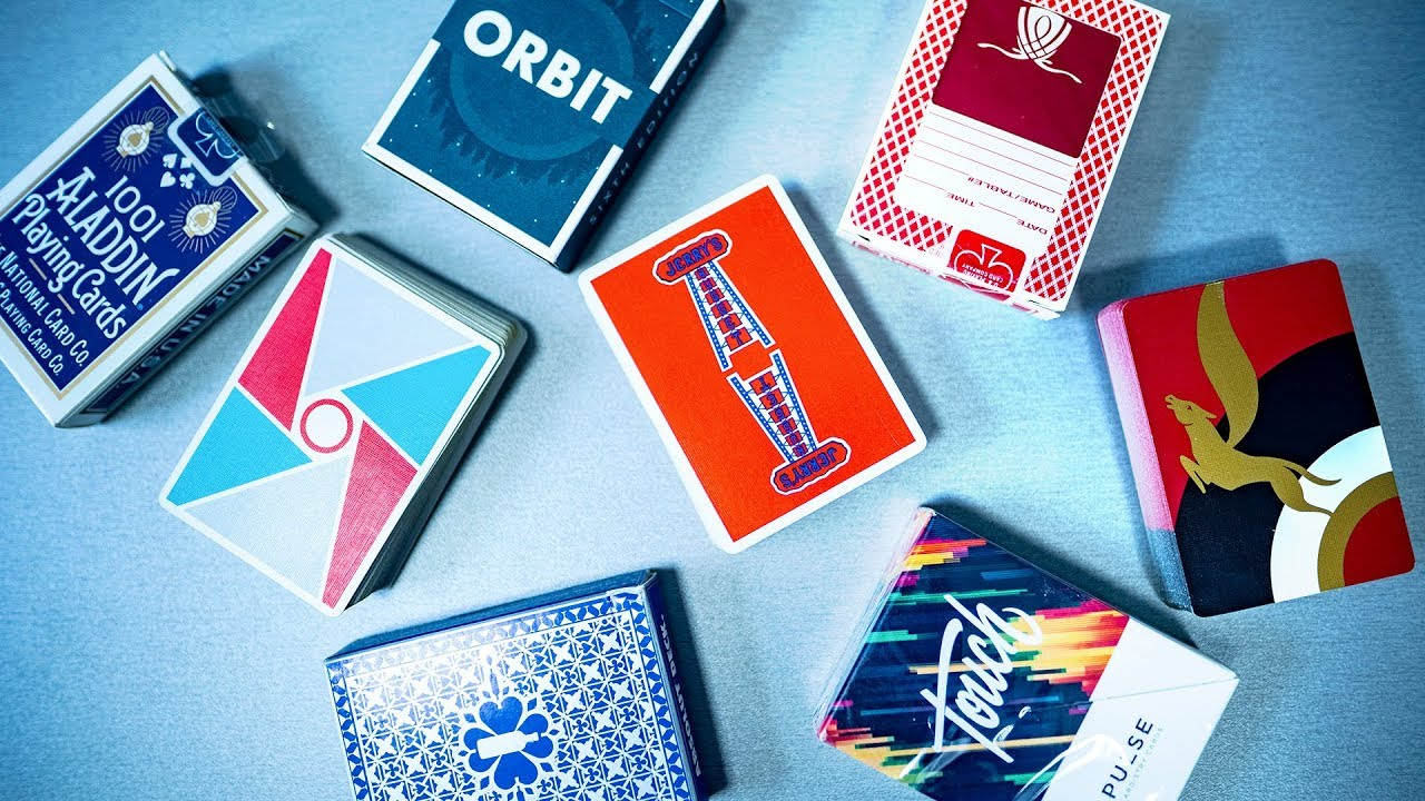 NEW Cardistry Touch V1 Origin Playing Cards Fontaine Bee Bicycle Anyone Virtuoso