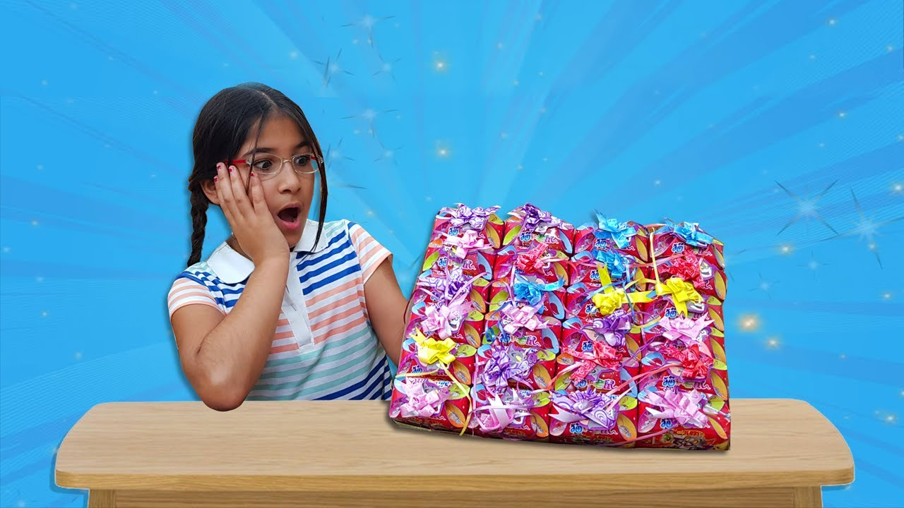 Learn Colors with Surprise Gift Box - Malak Opens Gift Box For Kids