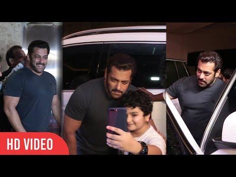 Salman Khan at Ramesh Taurani Diwali Party 2017  Viralbollywood