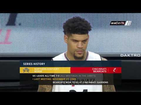 Men's Basketball Highlights: Cincinnati 78, NKU 65 (Courtesy Fox Sports)
