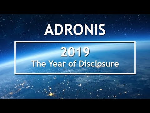 Adronis  2019: The Year of Disclosure