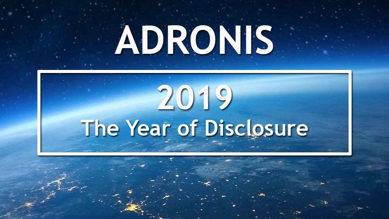 Image result for Adronis - 2019: The Year of Disclosure | NewEarthTeachings.com