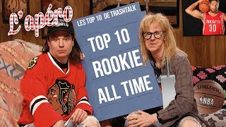 Top 10 meilleurs rookies All-Time