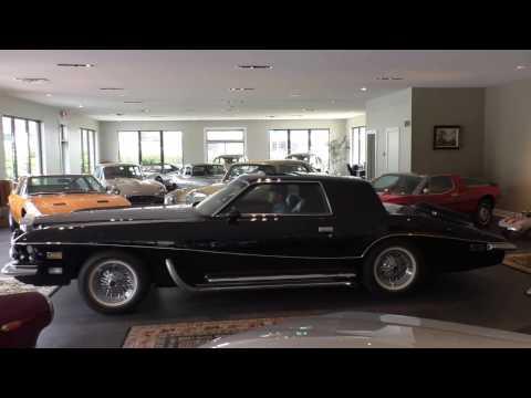 Daniel Schmitt & Co. presents: 1974 Stutz Blackhawk Coupe walk around & start up