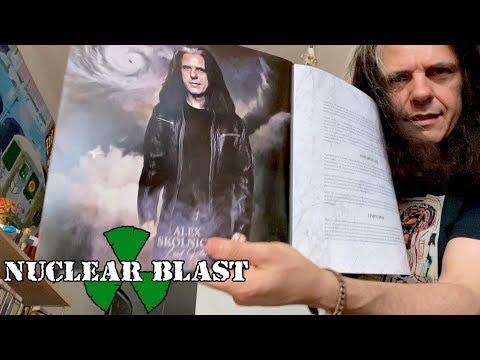 TESTAMENT - Alex Skolnick Unboxing Titans Of Creation (OFFICIAL TRAILER)