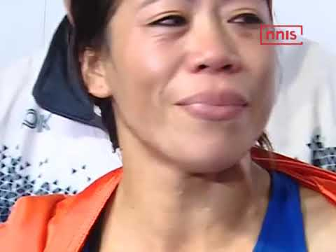 The Great Khali Congratulates Mary Kom For Winning 6th Title