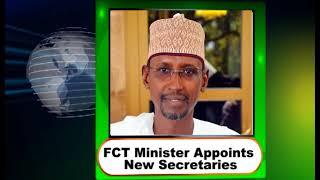 FCT Minister Appoints Mandate Secretaries