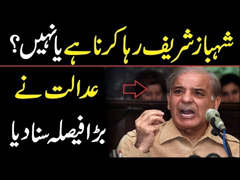 NAB Court Issued Big Order About Shahbaz Sharif