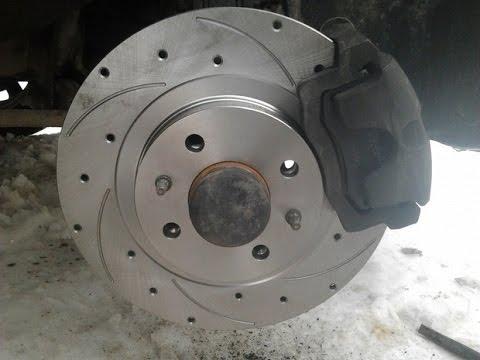 тормозной диск передний ваз 2107