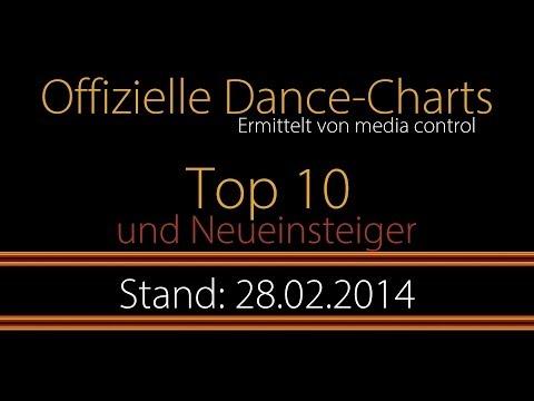 Offizielle Dance-Charts   Top 10   Deutschland (28.02.2014)