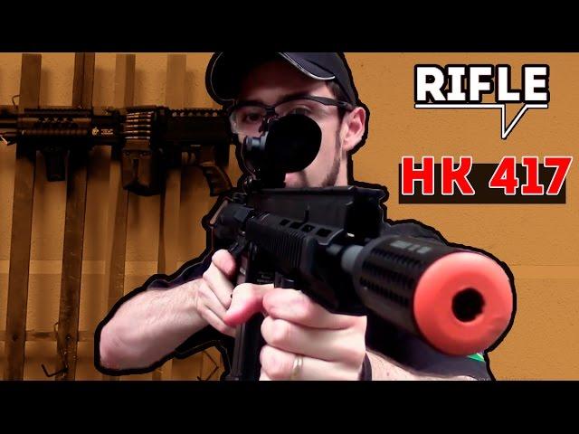 HK 417: O modelo de rifle de airsoft perfeito para DMR - Airsofts