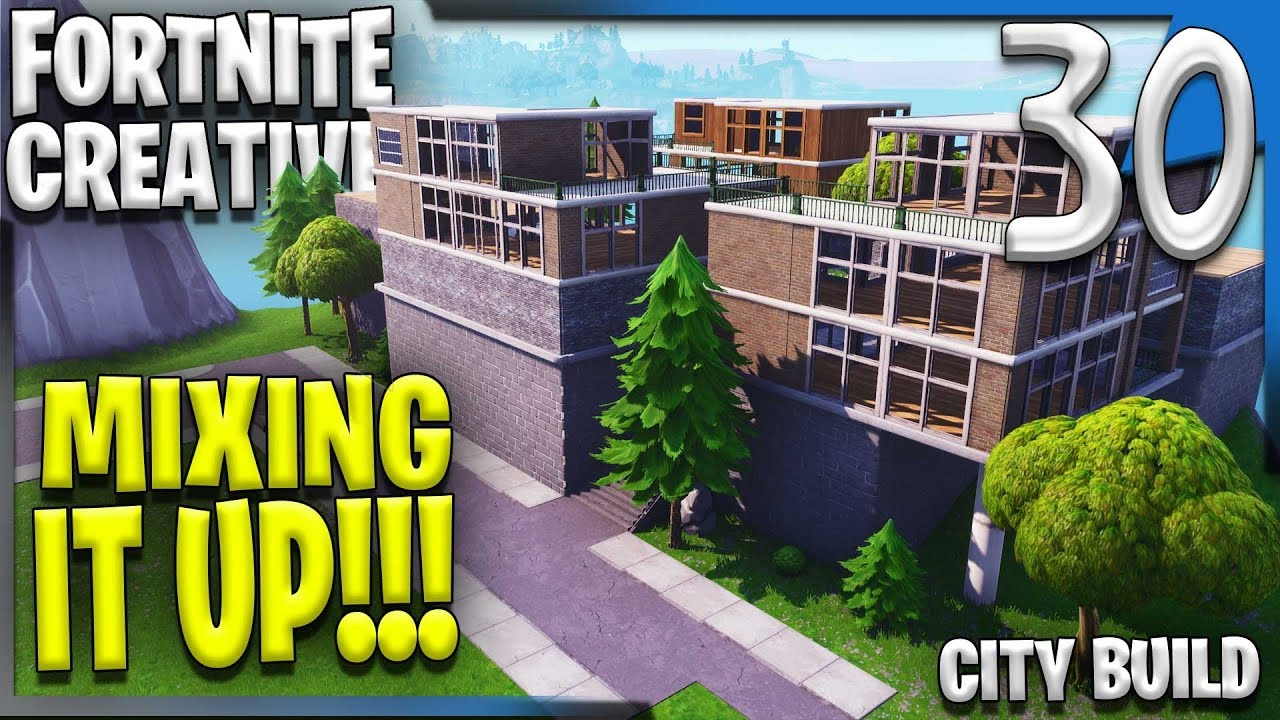 Mixing up the modern fortnite creative building e30