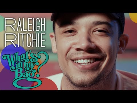 Raleigh Ritchie - What's in My Bag?
