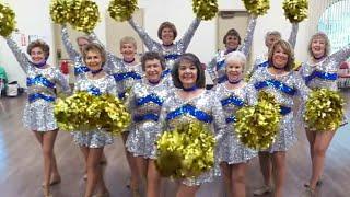 Cheerleading Squad of Senior Citizens Shakes Its Stuff thumbnail