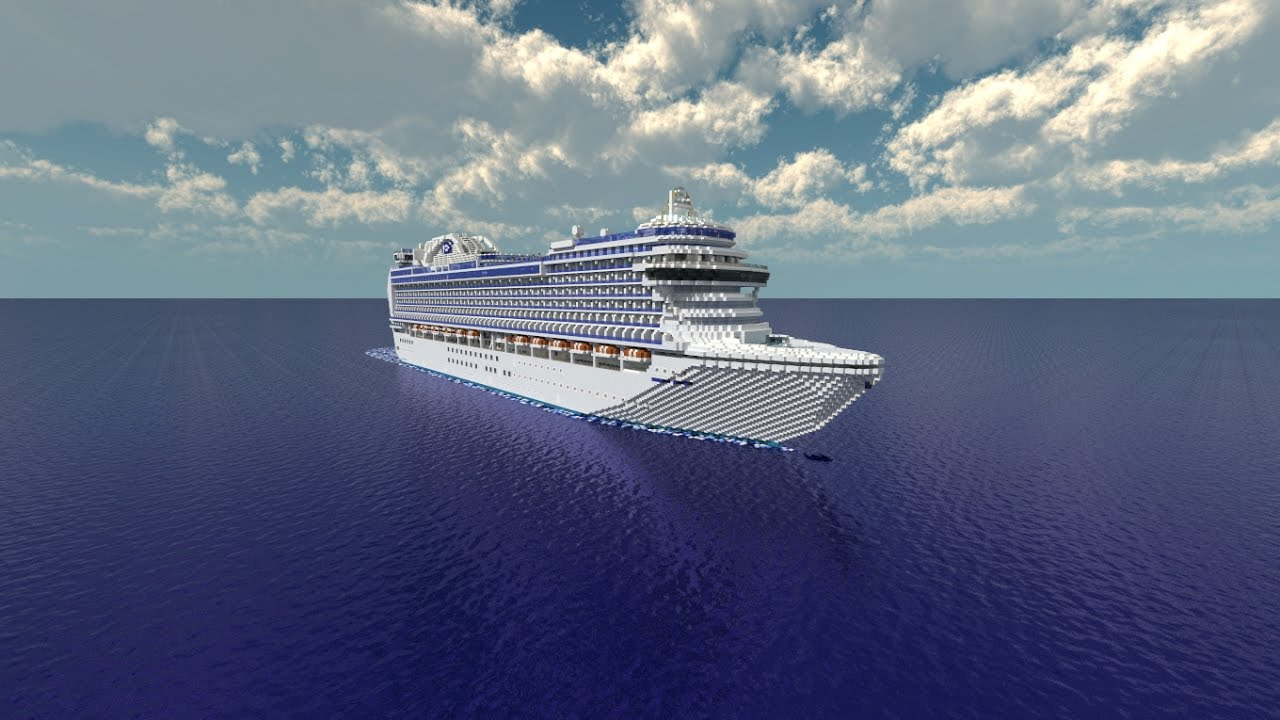 Minecraft Disney Cruise Ship Tutorial Best Image