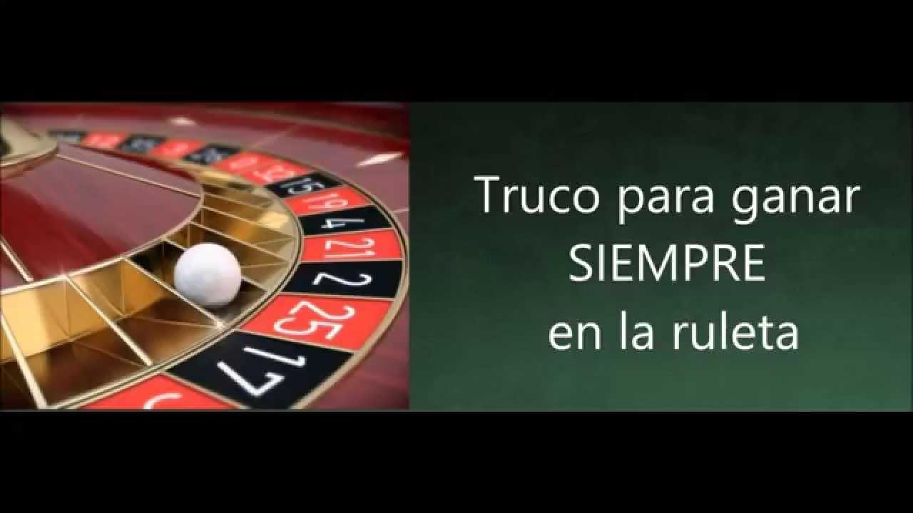 Trucos de ruleta de casino sibaya casino durban vacancies