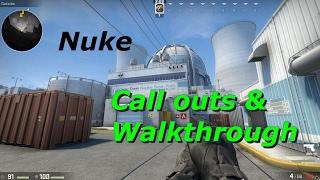 Nuke Call outs & Walkthrough (CSGO)