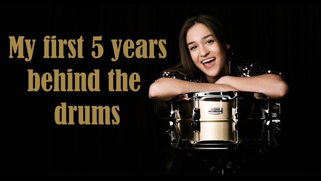 Nikoleta - My first 5 years behind the drums