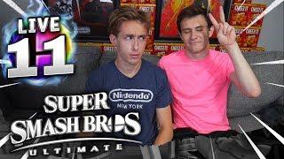 RYAN'S HERE!! - Super Smash Bros Ultimate Member Matches!!