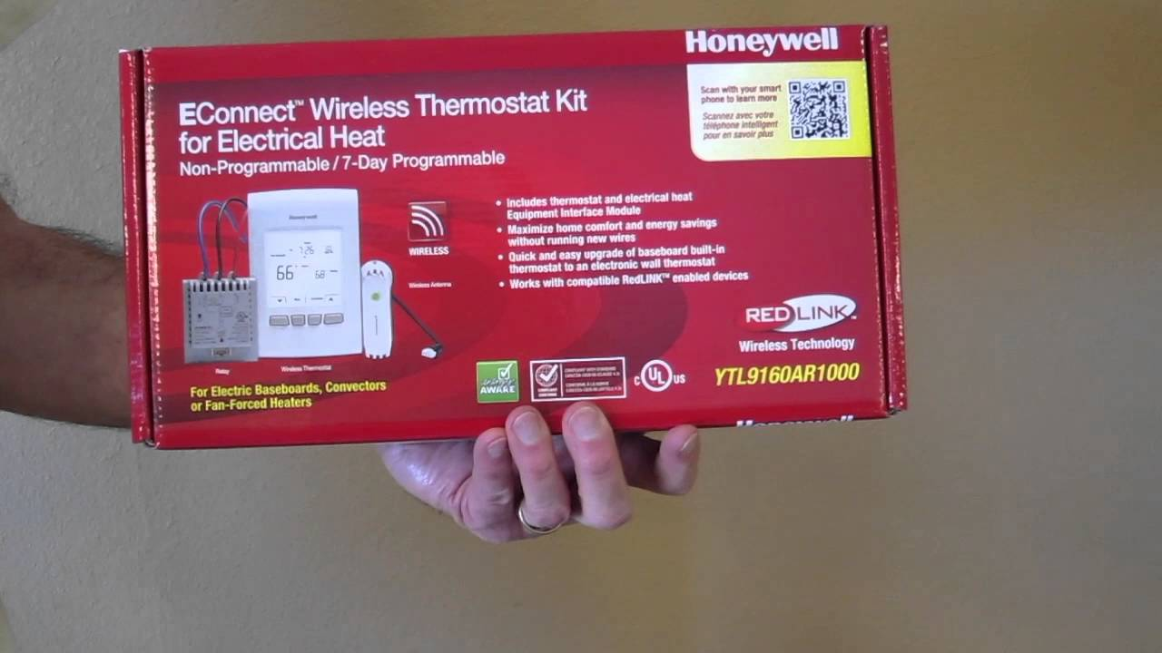 Testimonial of Honeywell EConnect WIreless Thermostat with RedLINK Gateway  YouTube