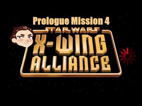 Fry and Ran Play: Star Wars X-Wing Alliance Prologue Mission 4 |