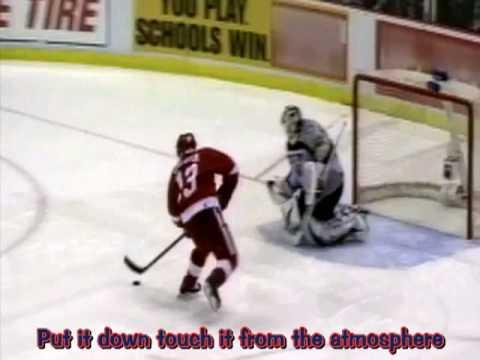 NHL 07 Intro Video with karaoke lyrics