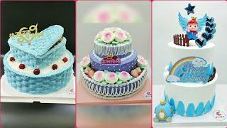 생일을 위한 뷰티 굿 아이디어 케이크 디자인