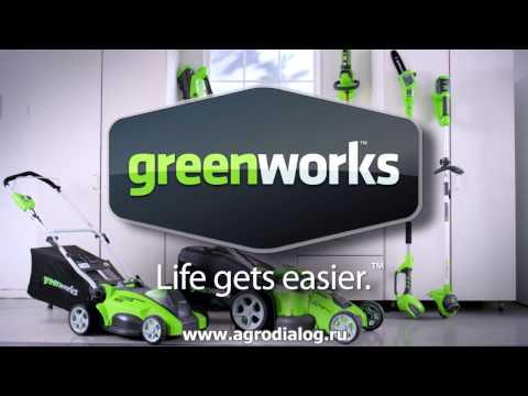 Акумулаторен храсторез GreenWorks G40HT61K2 #hJIzG9IOvLI