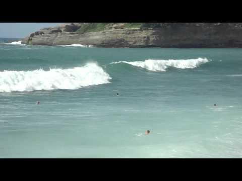 Big waves in Biarritz