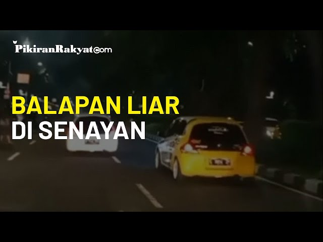Viral Video Balapan Liar di Senayan Jakarta Pusat, Polda Metro Jaya Memburu Para Pembalap Liar Itu