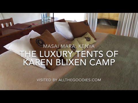 The Luxury Tents of Karen Blixen Camp, Masai Mara, Kenya